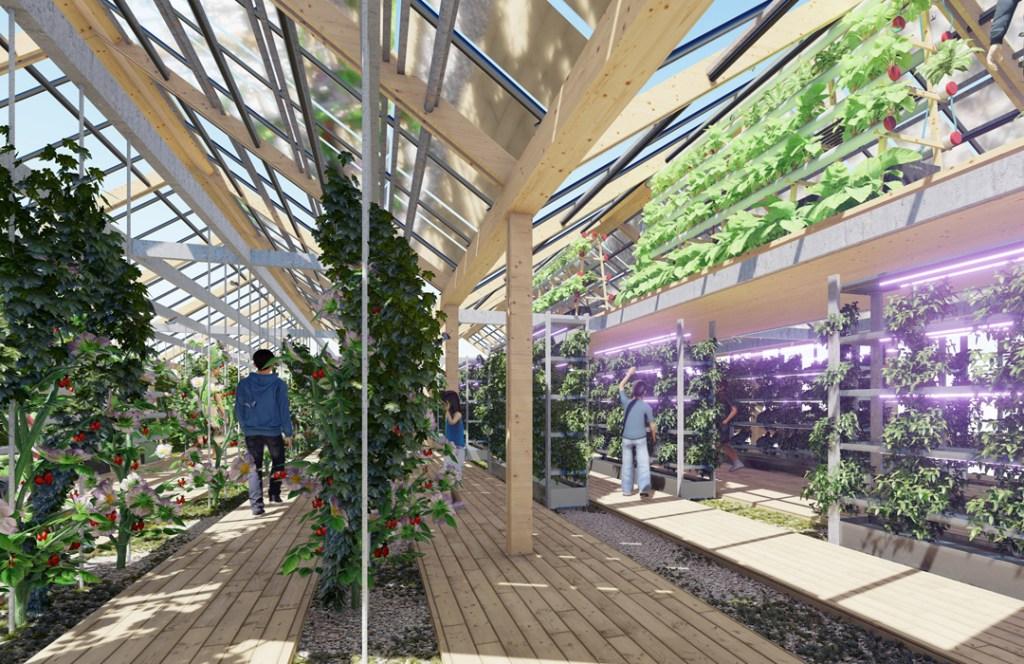 Para búsquedas relacionadas a ciudad futurista sostenible