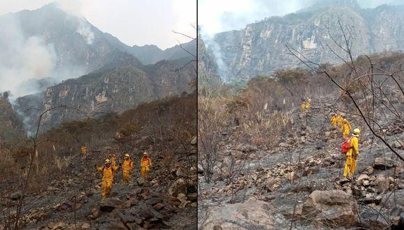 Machu Picchu se salva de devastador incendio