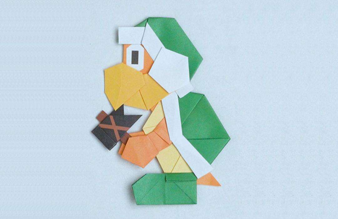 Nintendo te enseña a recrear a tus personajes favoritos en versión Origami