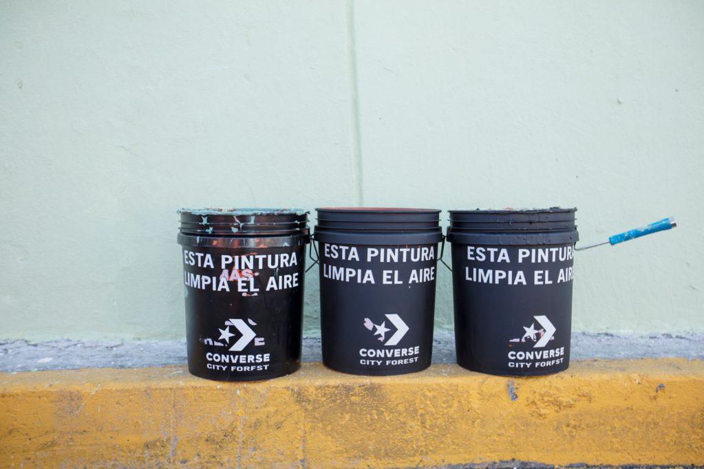 Los murales que limpian el aire llegan a México por el Día de Muertos