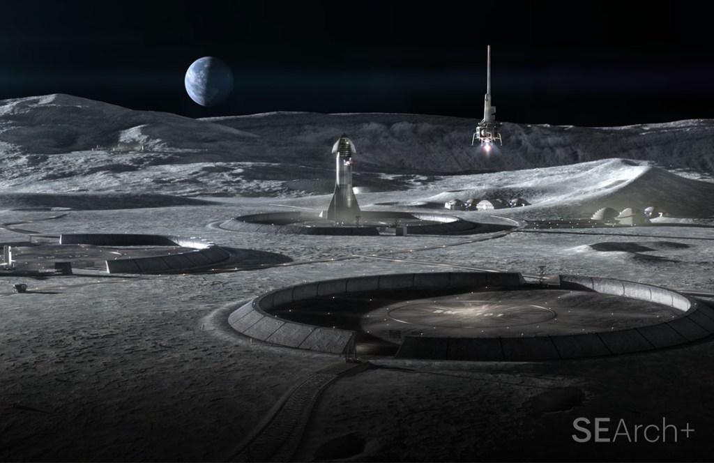 La NASA ya trabaja en un hábitat lunar impreso en 3D y es sustentable
