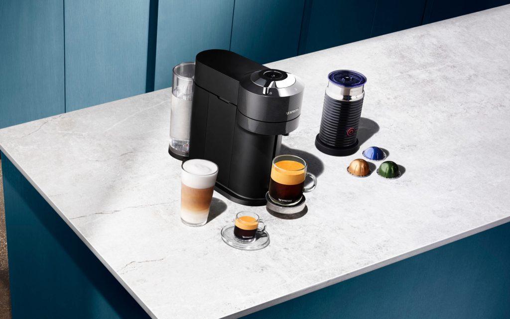 ¿Ganas de café? Esta máquina está hecha con plástico reciclado