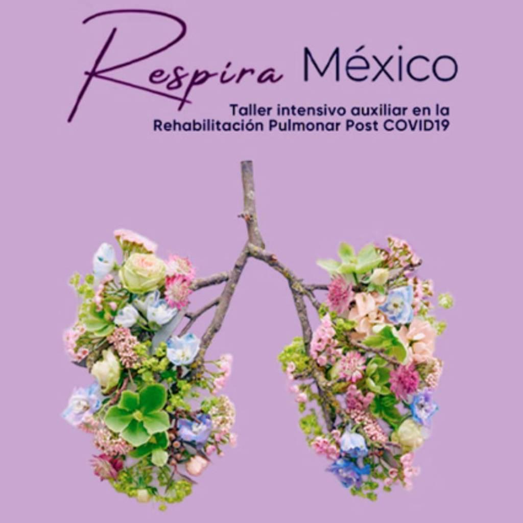 Talleres pulmonares de la UNAM 'Respira México'