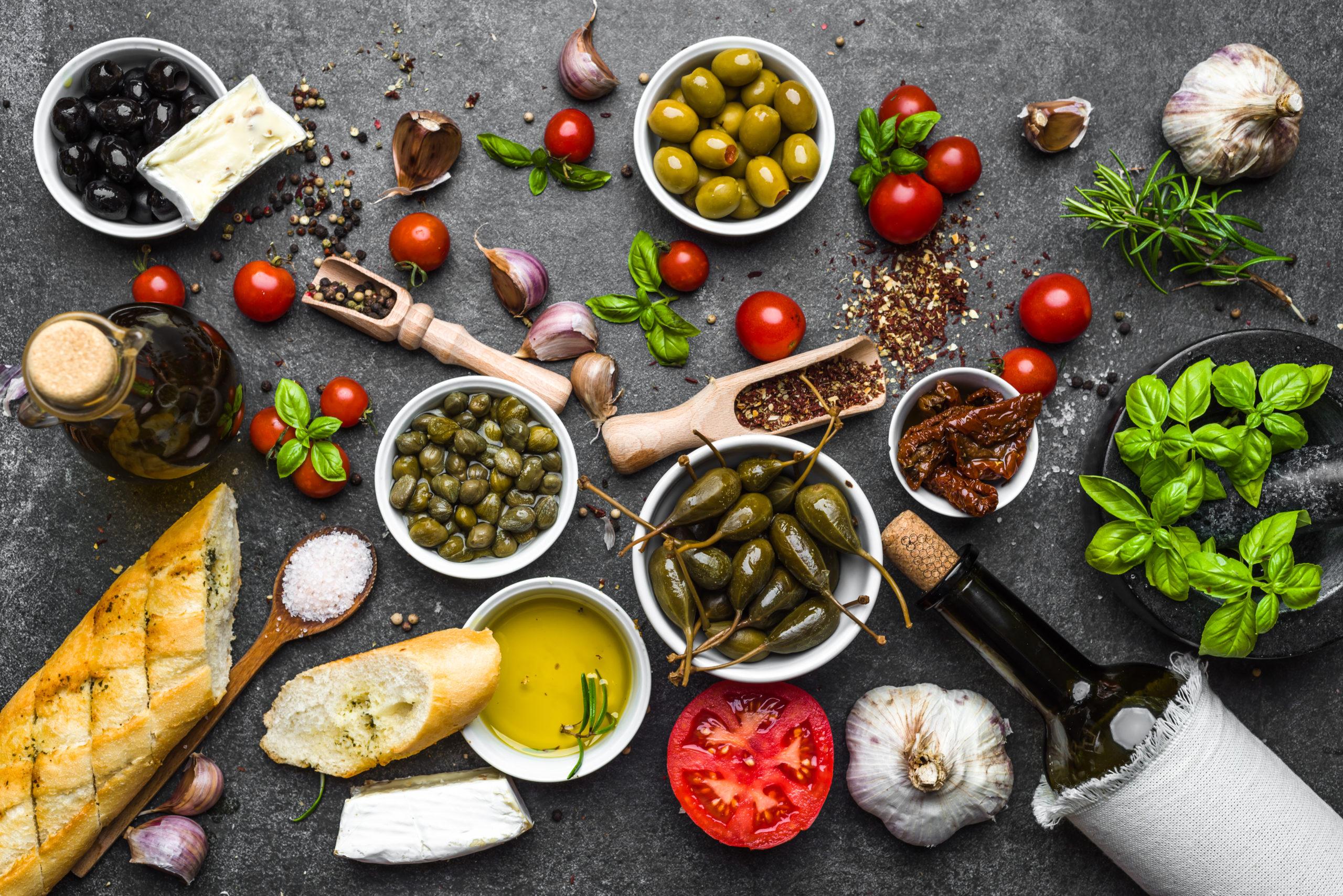 La dieta mediterránea gana el premio a la mejor dieta de 2021