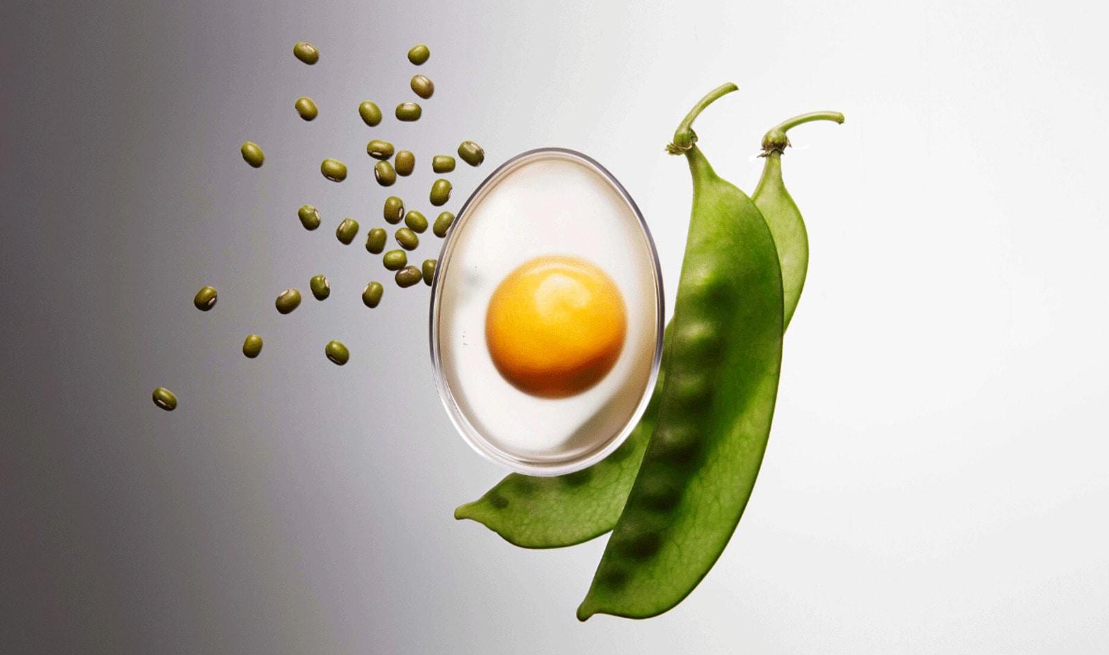 ¿Huevos veganos iguales a los de gallina? ¡Sí, ya existen!