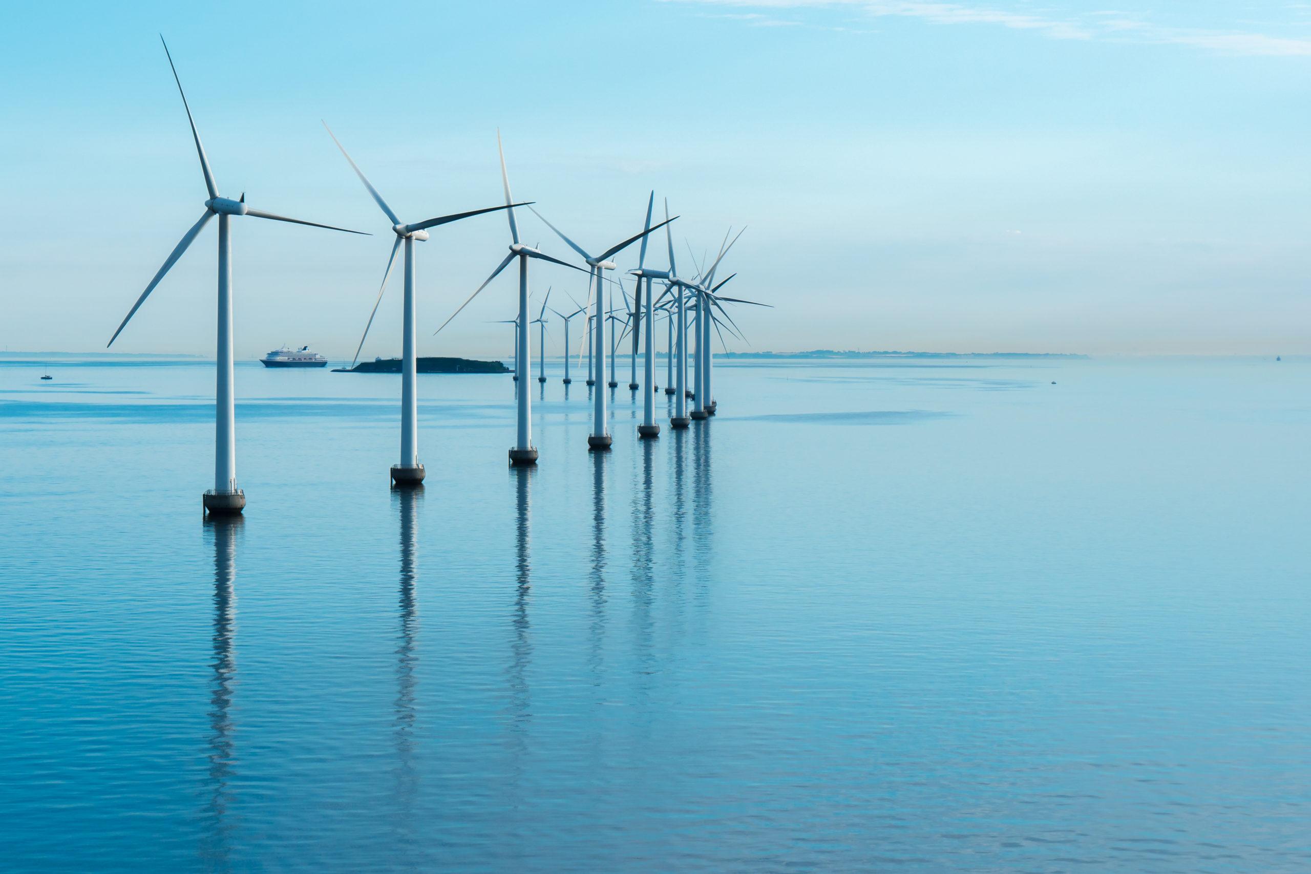 Corea del Sur busca tener el parque de energía eólica marina más grande del mundo
