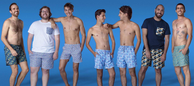 Amarás esta marca de trajes de baño mexicana, sustentable e inclusiva para todos los hombres