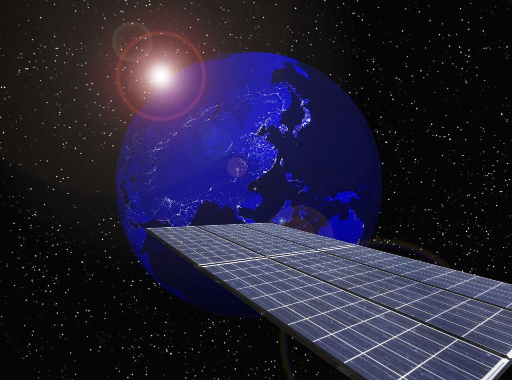 Colocan panel solar en el espacio para hacer llegar energía a la Tierra