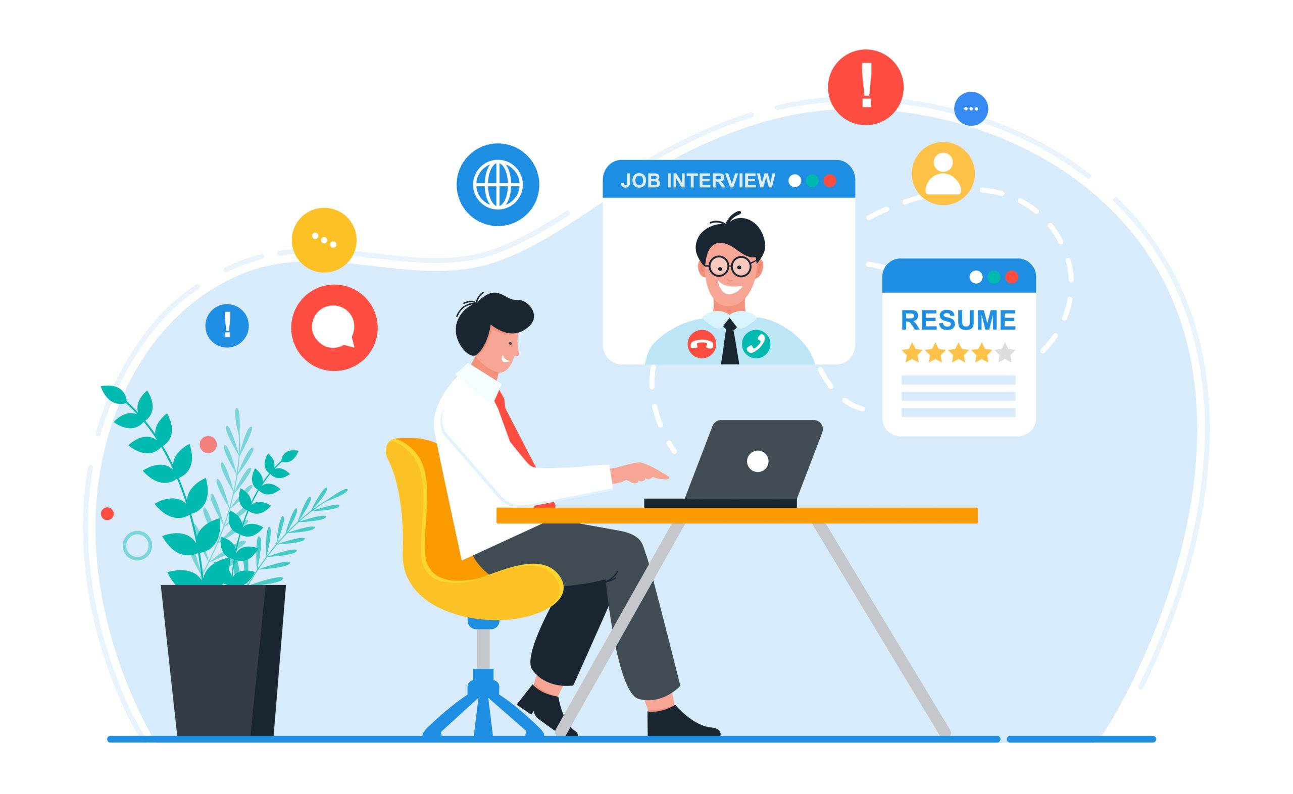 9 claves para tener una entrevista virtual exitosa