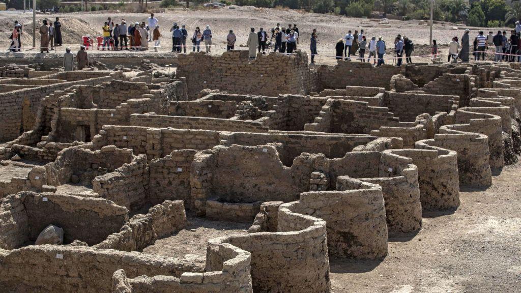 Encuentran Luxor, la ciudad dorada perdida de Egipto