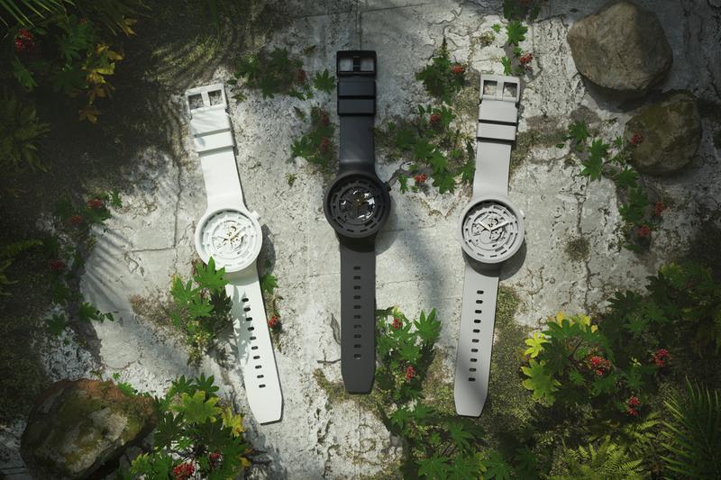 Swatch introduce la biocerámica, un material 100% ecológico para sus relojes