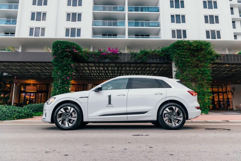 La apuesta verde de Audi y 1 Hotels