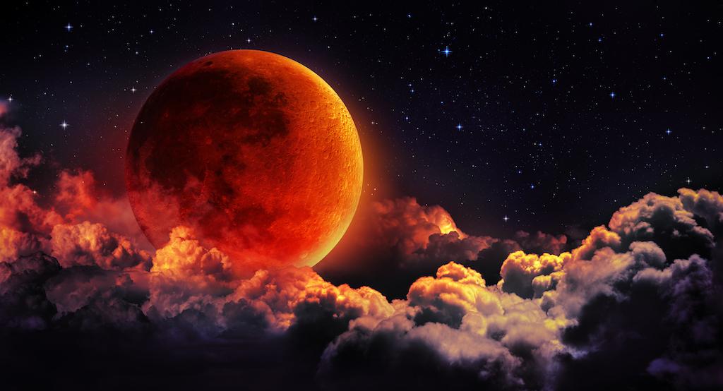 Todo lo que debes saber sobre el Eclipse total de Luna de sangre