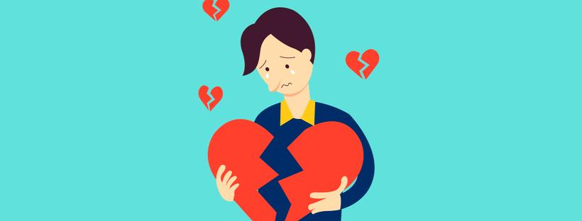Las rupturas sentimentales son más difíciles para los hombres. ¿Sabes por qué?