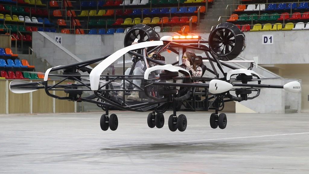 taxi volador de rusia