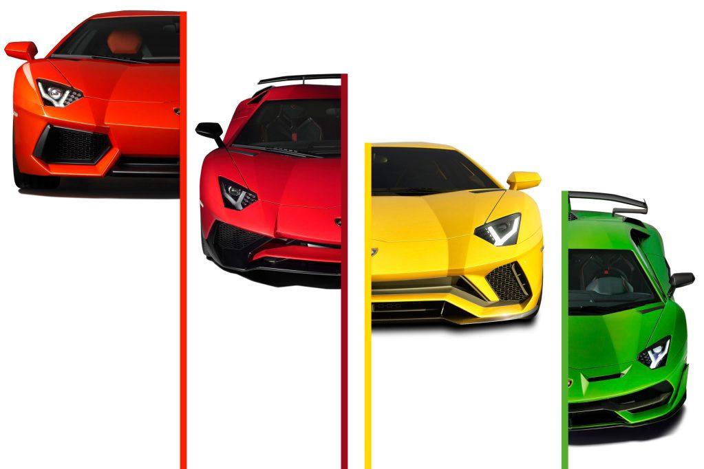 El Lamborghini Aventador festeja sus primeros 10 años
