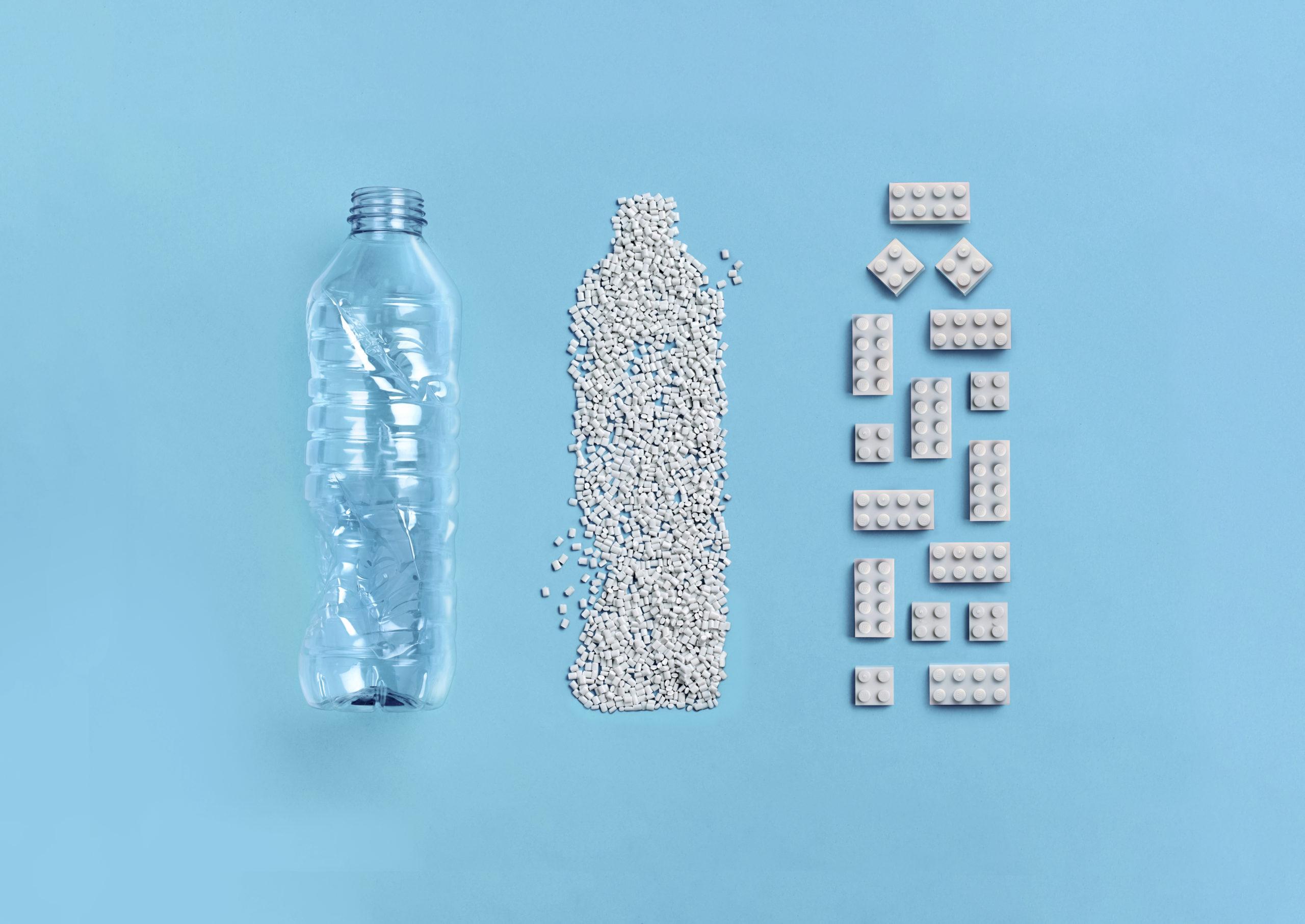 Los Lego del futuro podrían ser de plástico reciclado