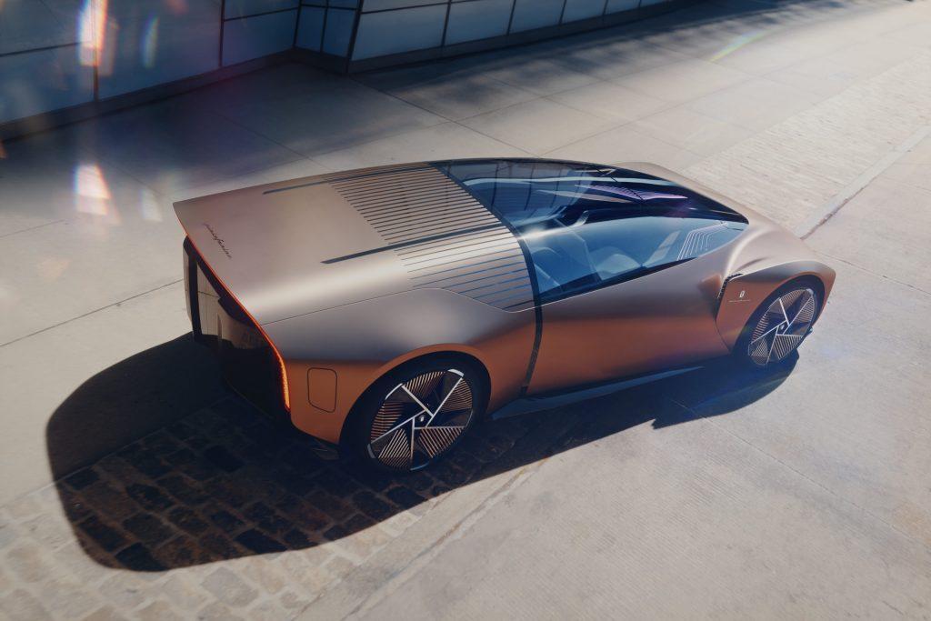 El nuevo automóvil Pininfarina, creado para vivirlo en realidad virtual