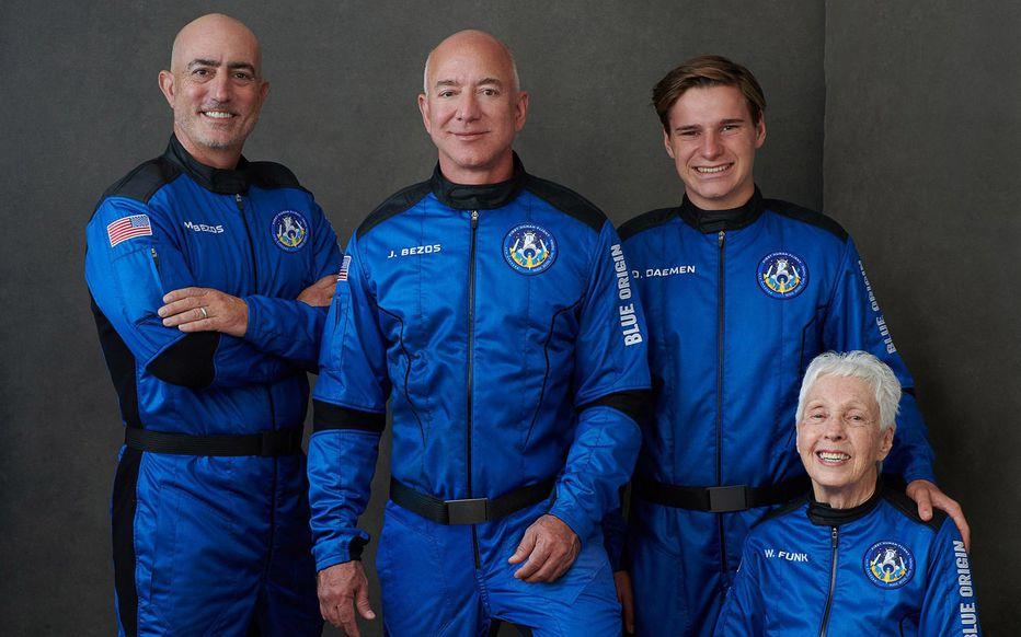 Esto es lo que debes saber del viaje al espacio de Jeff Bezos y su tripulación