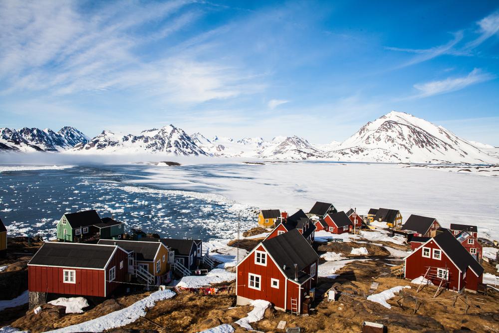 En Groenlandia llueve por primera vez en 70 años