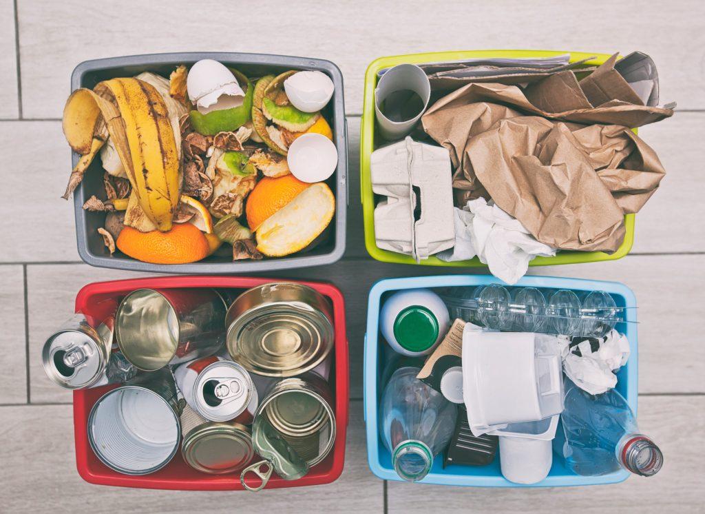 Aprende a separar los residuos desde casa