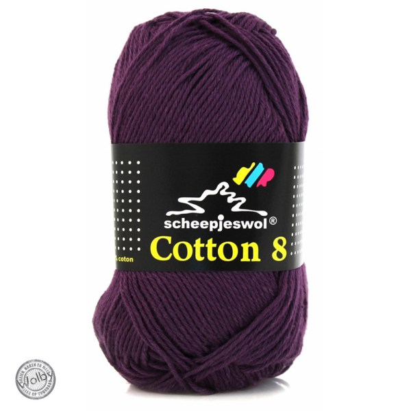 Cotton 8 – 661 – Paars