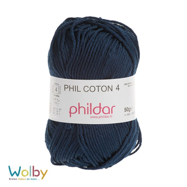 Coton 4 - 051 - Naval / Donker Blauw