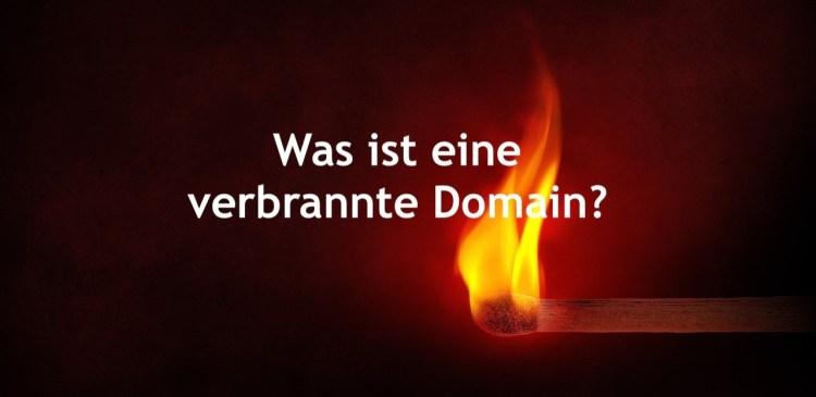 Was ist eine verbrannte Domain