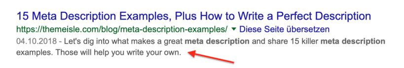 Bildschirmfoto 2019 01 19 um 11.04.41 - Snippet Optimierung – Optimierung der Suchergebnisse