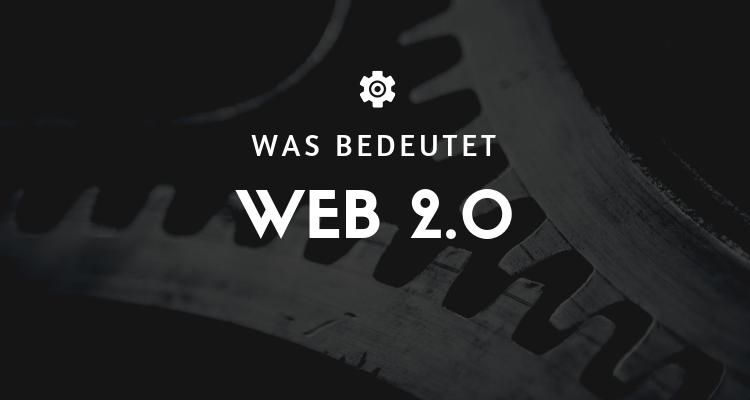 Was bedeutet 1 6 - Web 2.0