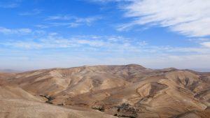 Weihnachten im Heiligen Land - Blick auf die Judäische Wüste