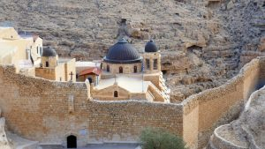 Mar Saba Kloster mit Schutzmauer