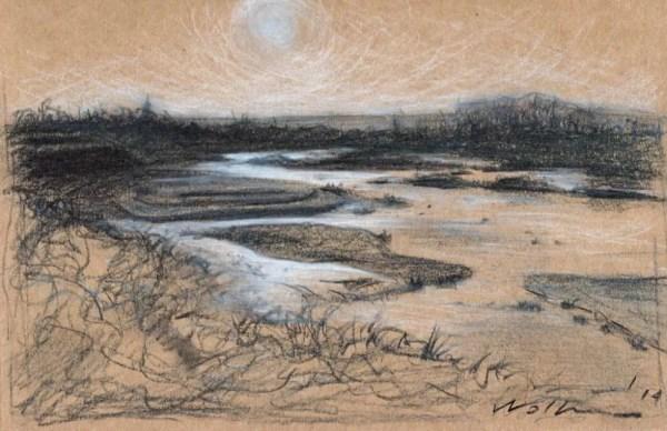 Glare on the Lake