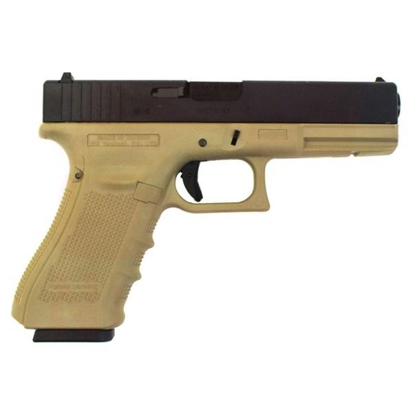 WE Glock 18 Gen 4 GBB Pistol (Tan)