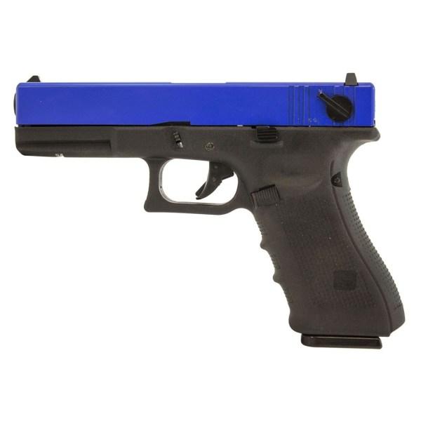 Raven EU18 Glock 18 Dual Tone Airsoft Gas Blowback Pistol ...