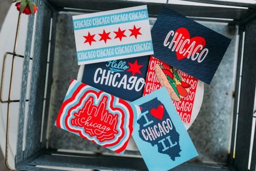 Chicago Style Postcard Set