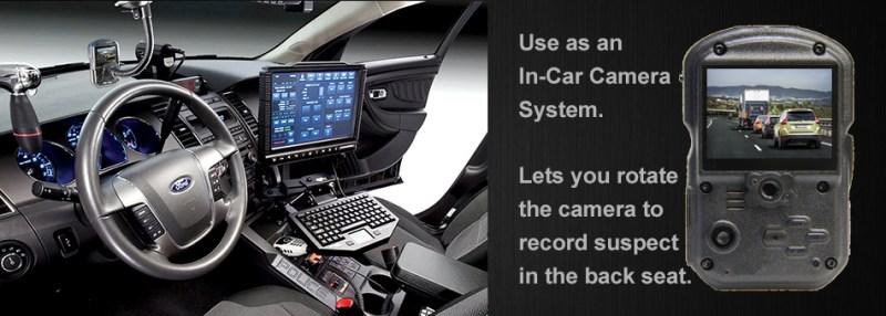 WOLFCOM In-Car camera system.