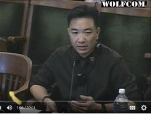 Police body camera expert Peter Austin Onruang