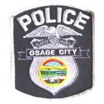 Osage city police badge