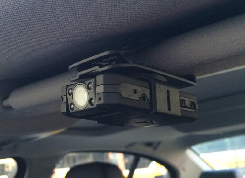 clip your wolfcom vision police camera to a visor