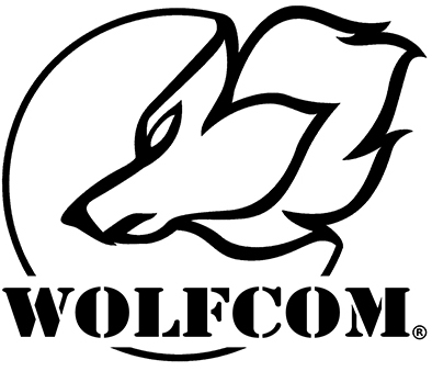 WOLFCOM Logo with white background
