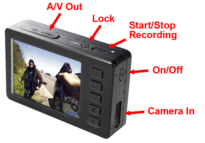 lone star covert pinhole button camera by wolfcom display and buttons