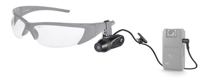 eye vision external attachment camera for point of view recording