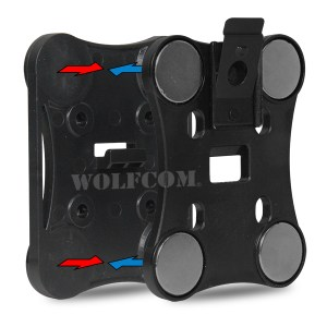 magnetic clip for the wolfcom halo body camera