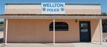 the wellton police department, in arizona, uses wolfcom body cameras