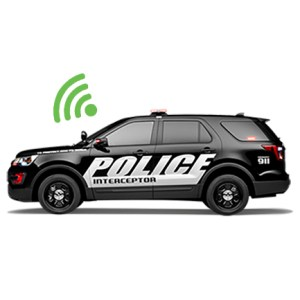 the WOLFCOM Mini MDVR In-Car System is able to wireless upload videos into the server