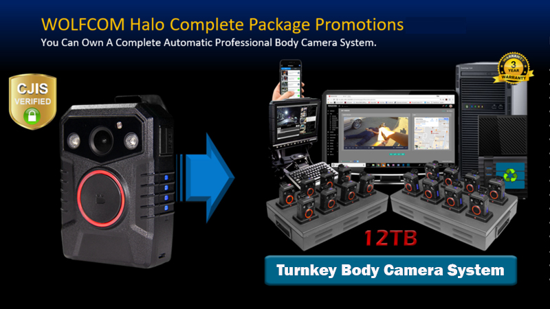 Halo body camera package deal