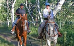 Equestrian On Trail