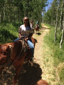 Equestrian Trail Ride - Camp