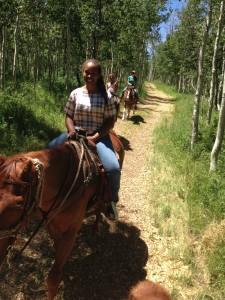Equestrian Trail Ride - Camp